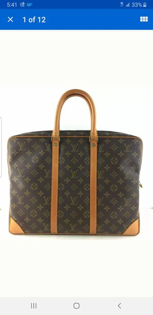 Louis Vuitton laptop handbag for Sale in Schaumburg, IL