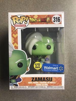 Zamasu Funko Pop Glow GITD Dragonball Super Walmart Exclusive 316 with protector for Sale in Farmers Branch, TX