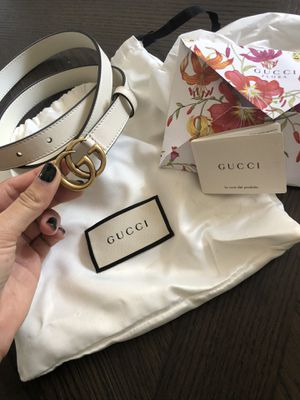 Authentic small G Gucci belt 38' for Sale in San Diego, CA