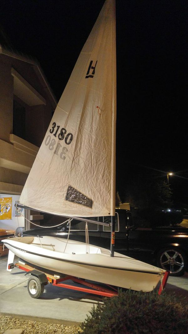 Hobie holder 12 sailboat up for sale,or trade for Sale in Goodyear, AZ -  OfferUp