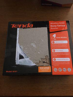 Tenda N301 easy setup router for Sale in Las Vegas, NV