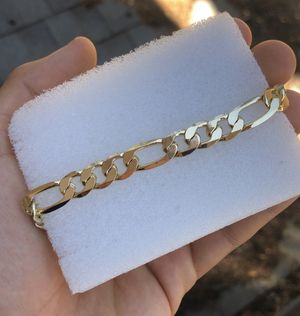 """ Gold filled men bracelet "" for Sale in Stockton, CA"