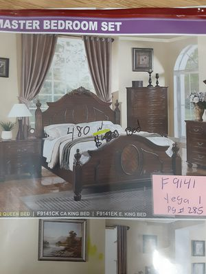 New bed Frame Queen Size bed with Mattress with box spring only $679 for Sale in Rialto, CA