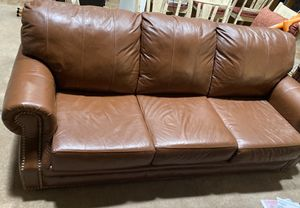 100% Leather Couch for Sale in Fowler, CA