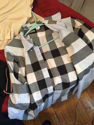 Burberry button up for Sale in Milwaukee, WI