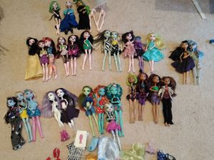 Monster High Doll Collection (&misc. Dolls) for Sale in Lynnwood, WA