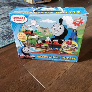 Thomas & Friends wood giant puzzle for Sale in Boise, ID