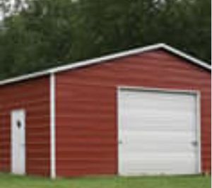 New 24' x 31' x 9' Steel Metal Garage Building for Sale in Rehoboth, MA