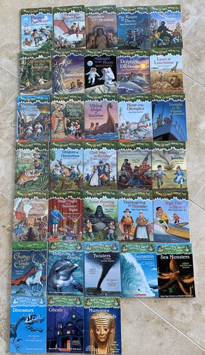 48 Magic Tree House Books for Sale in Yorkville, IL