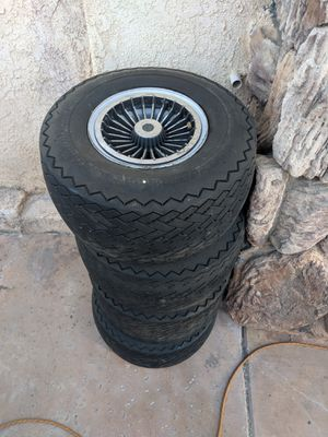 4 Golf Cart Tires and Wheels for Sale in Canyon Lake, CA