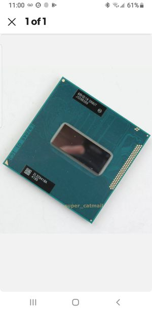 Intel Core i7-3840QM CPU 3.8 GHz 8M Quad-Core Socket G2 (SR0UT) Processor for Sale in Lake Worth, FL