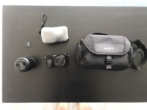 Sony A6000 Mirrorless Digital Camera with 16-50mm/55-210mm Lenses for Sale in Boston, MA