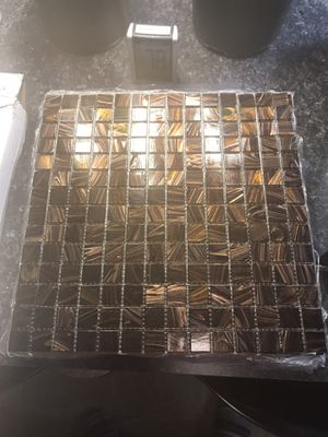 Coppa gold 12x12 adhesive tile 10 pack for Sale in Richmond, VA