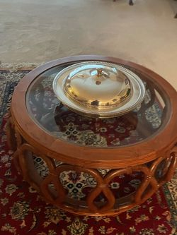 Chinese Rosewood Coffee Table for Sale in Bothell,  WA