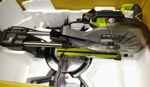 RYOBI 12 in. Sliding Miter Saw with LED for Sale in Villa Rica, GA