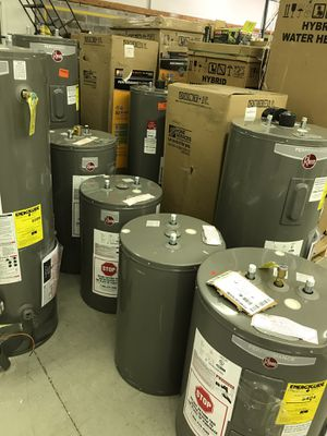 Rheem water heater from 250 and up gas and electric for Sale in Atlanta, GA