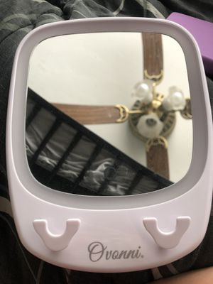 Mirror and makeup brushes for Sale in Oldsmar, FL