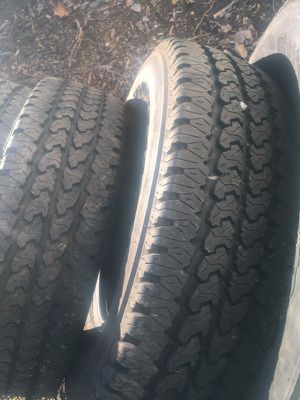Tires Lt245/75/r17 for Sale in Arlington, VA