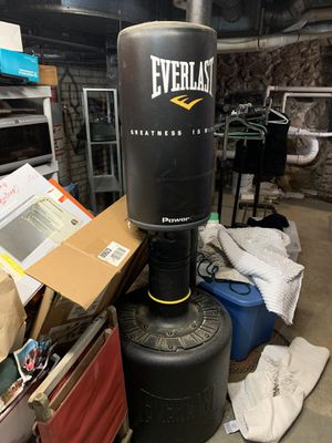 Everlast punching bag. Water filled. Moving for Sale in Bedford, MA