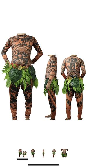 Maui and moana costumes for Sale in Vista, CA