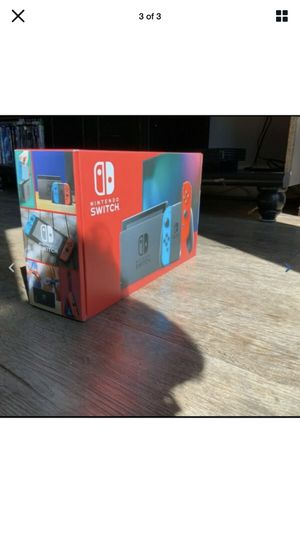 Nintendo switch red and blue joy cons New in Box for Sale in Plano, TX