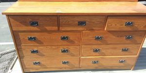 9 drawer wood dresser with delivery for Sale in Hawthorne, CA