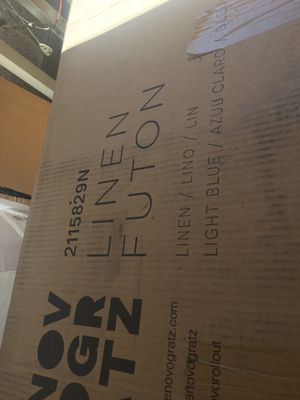 Brand New In Box Futon Couch for Sale in Las Vegas, NV