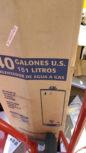 Gas water heater 40 gallon nrw for Sale in Lincoln Acres, CA