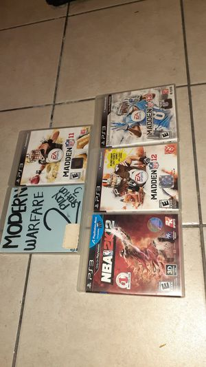 PS3 games for Sale in Westminster, CA