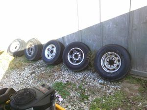Dodge tires and rims for Sale in Marengo, OH