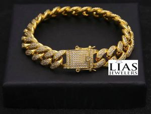New 18 k yellow gold Cuban link bracelet for Sale in Orlando, FL