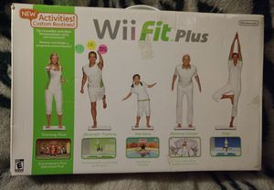 Wii fit plus for Sale in Perry, GA