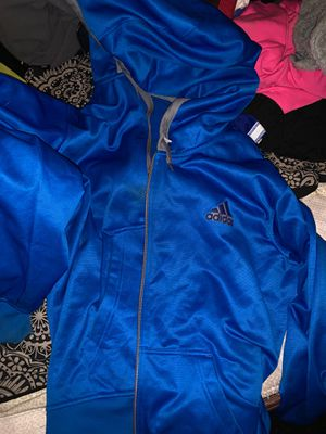 XL MENS ADIDAS HOODIE SONIC BLUE for Sale in Everett, MA