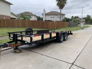 2019 Ranch King 20 ft trailer for Sale in Houston, TX