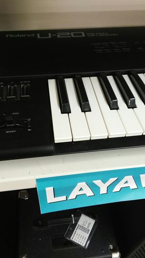 Roland U-20 RS-PCM Keyboard for Sale in Marietta, GA