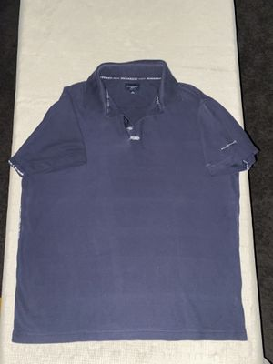 men's burberry golf polo shirt navy blue size medium for Sale in Claremont, CA