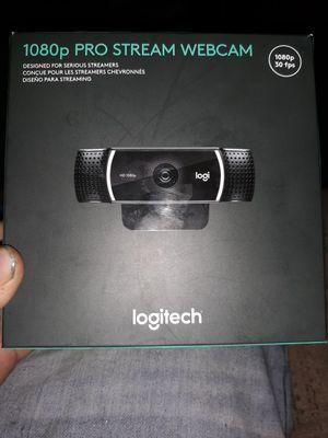 1080p pro stream webcam for Sale in Pittsburg, KS