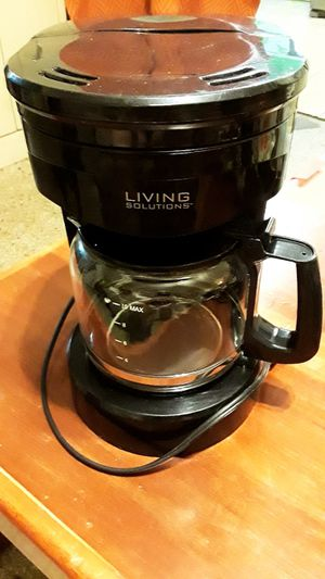 Living Solutions Coffee Maker for Sale in Oakland Park, FL