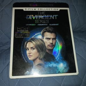 4k ultra be 3 disc Divergent set all 3 movies like new for Sale in Nashville, TN