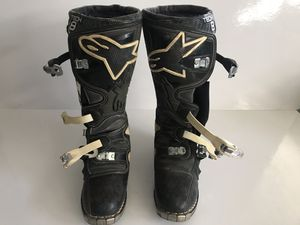 Alpinestars Tech 8 MX Boots Size 8 for Sale in Phelan, CA