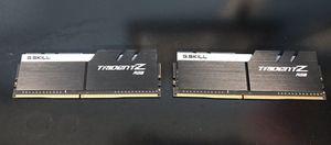 G.SKILL TridentZ RGB 16GB (2 x 8GB) 288-Pin DDR4 3200 mhz for Sale in Santee, CA