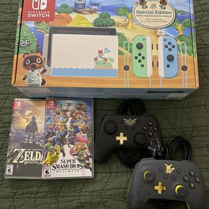Nintendo Switch Special Edition w/ Games and More for Sale in Goodyear, AZ
