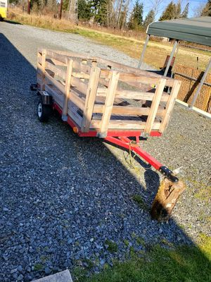 Utility Trailer with title for Sale in Tacoma, WA