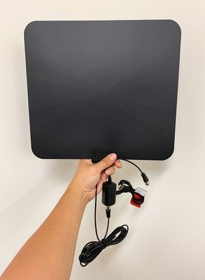 "New $18 Indoor TV Antenna Flat 12""x13"" Local Digital HDTV Channels, 60-90 Miles Range for Sale in Pico Rivera, CA"