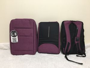 Brand New 17 Inch Convertible Laptop Bag Backpack for Sale in Round Lake Beach, IL