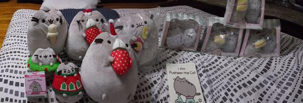 Pusheen the cat stuffed animals