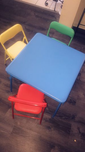 Children's table set for Sale in Baytown, TX