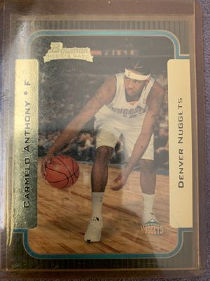 Rare NBA cards. Rookie Carmelo, etc, excellentl condition for Sale in Tallahassee, FL