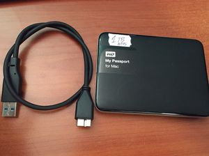 WD my passport for Mac or Windows 1TB backup external hard drive USB 3.0 for Sale in Hollywood, FL
