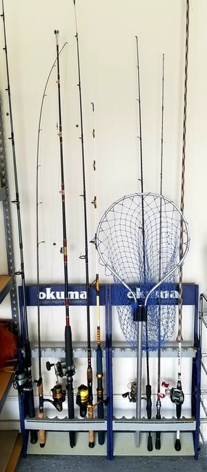 Lot of Fishing Rods & Reels (Read Description)- Penn, Shimano, Abu Garcia for Sale in Tarpon Springs, FL